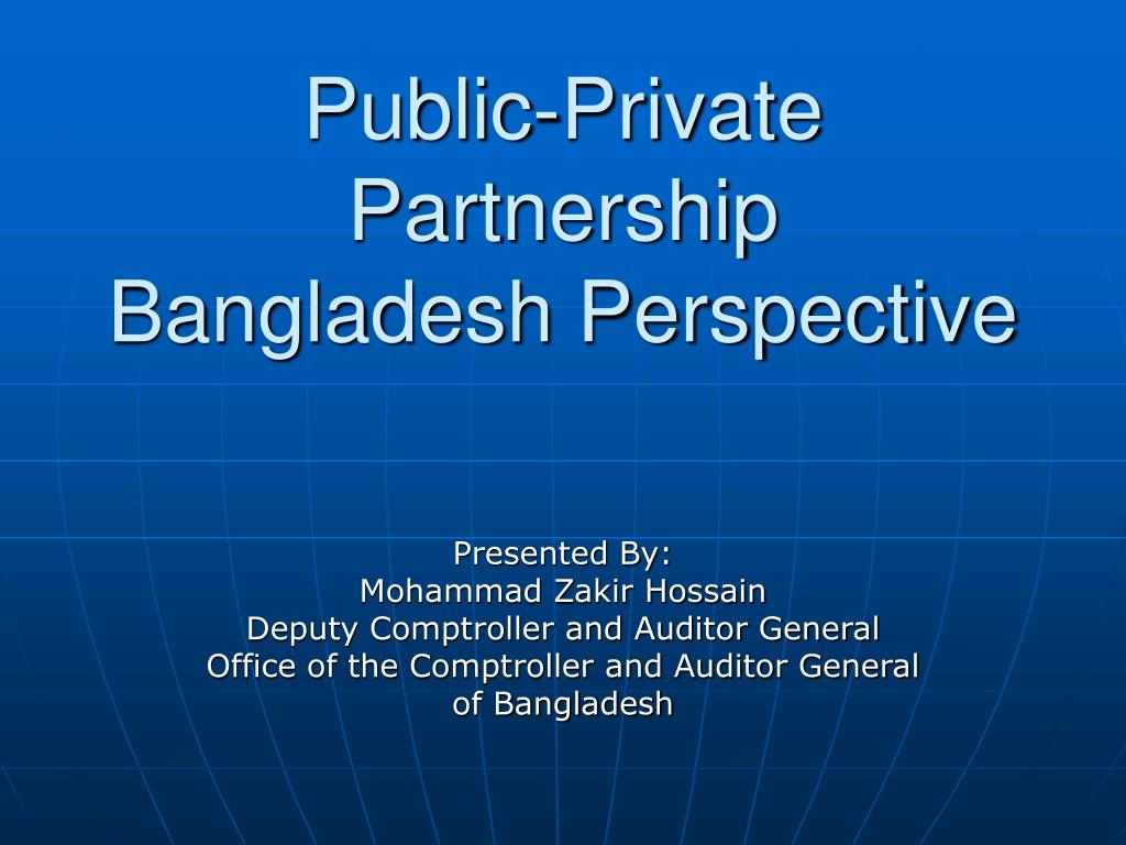 public private partnership bangladesh perspective l.