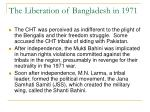 the liberation of bangladesh in 1971