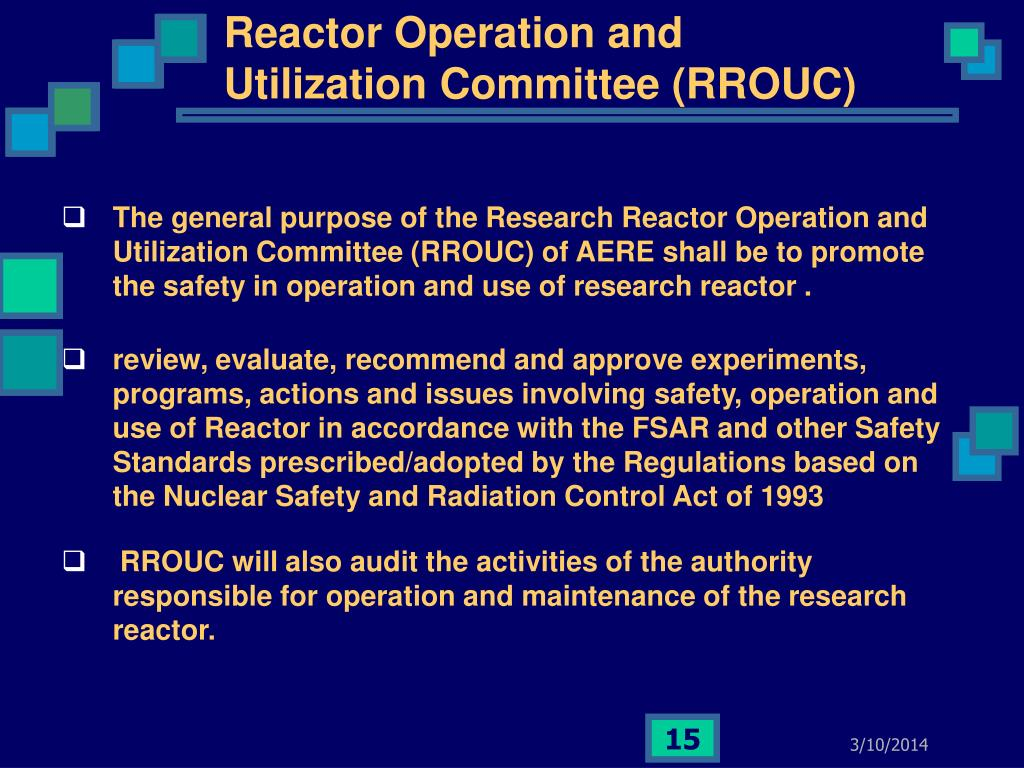 Reactor Operation and Utilization Committee (RROUC)