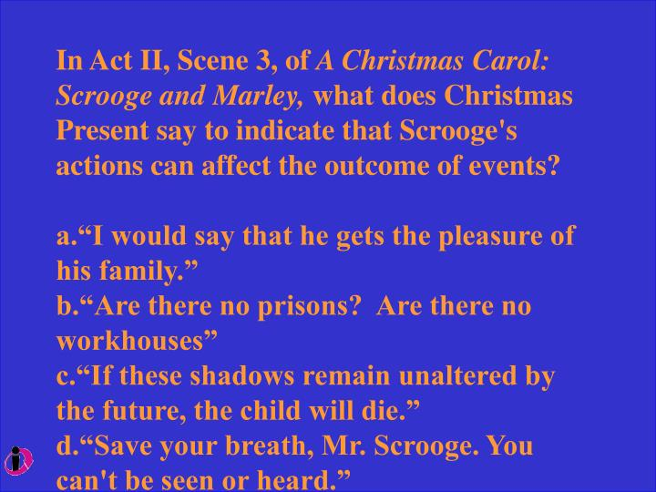 scrooge are there no prisons