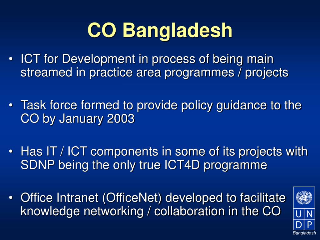 CO Bangladesh