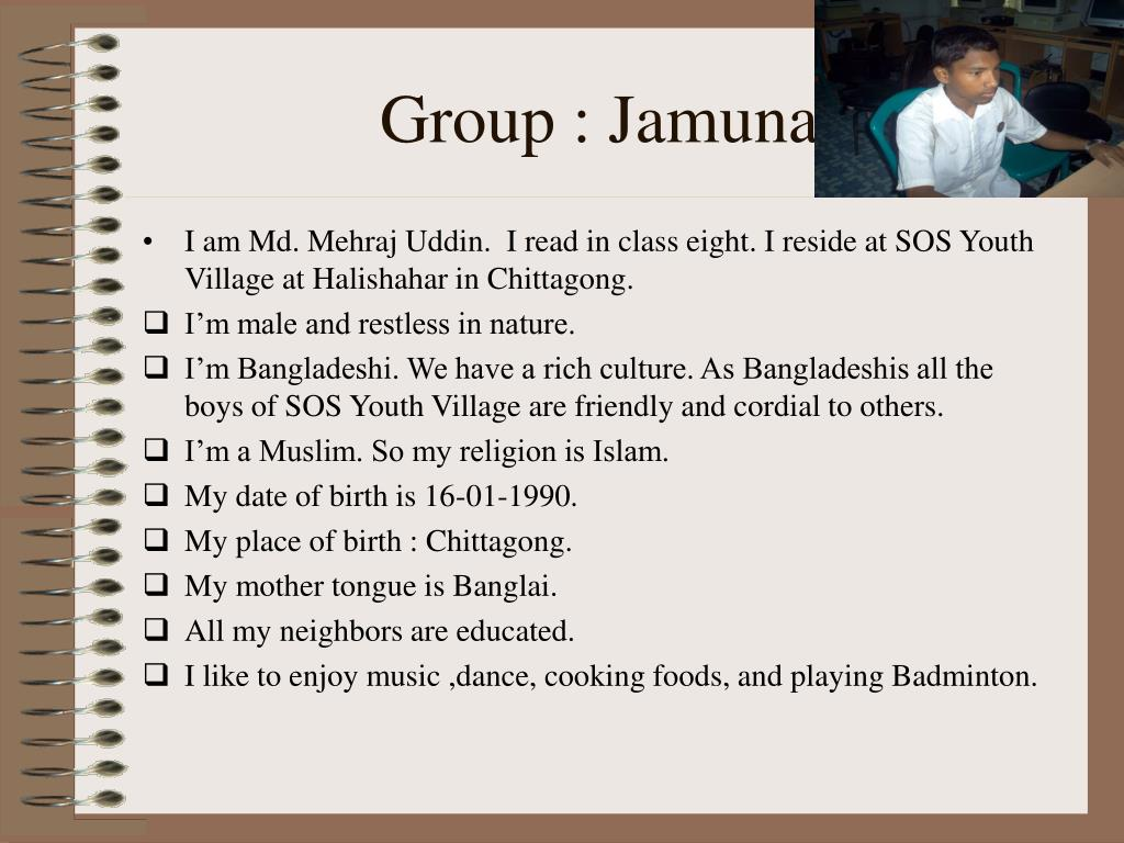 Group : Jamuna