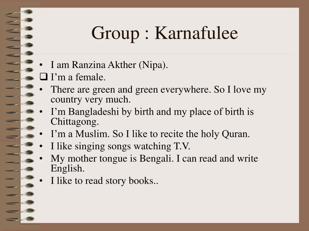Group : Karnafulee