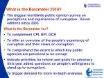 what is the barometer 2010