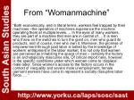 from womanmachine