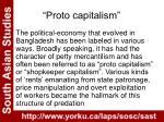 proto capitalism
