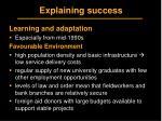 explaining success13