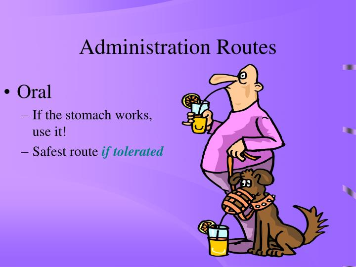 Administration Routes