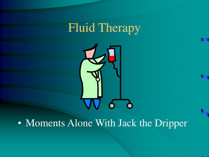 Fluid therapy