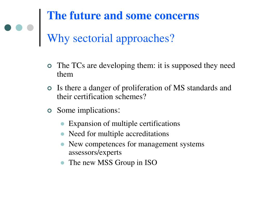 The future and some concerns