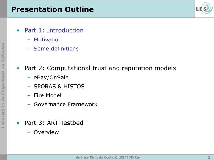 Presentation outline3