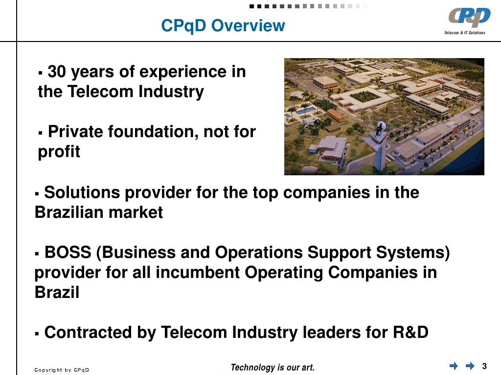 CPqD Overview