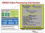 dm365 video processing sub system