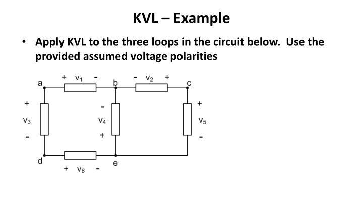 KVL – Example