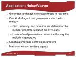 application noiseweaver