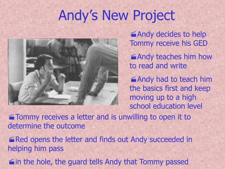 Andy's New Project