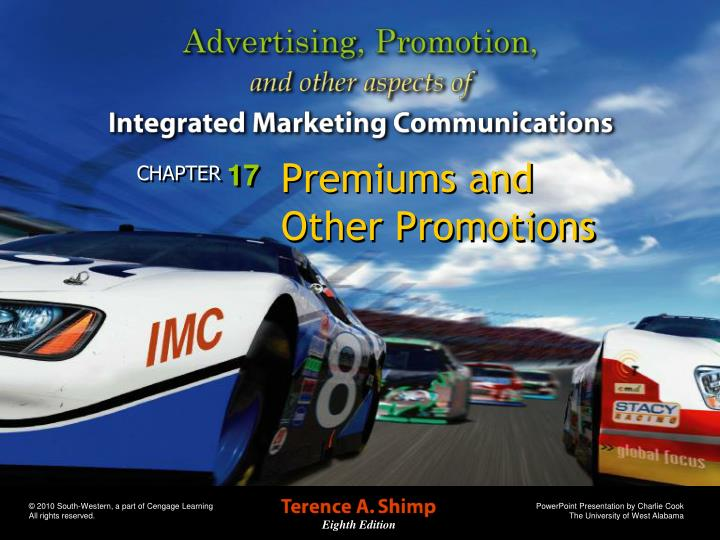premiums and other promotions n.