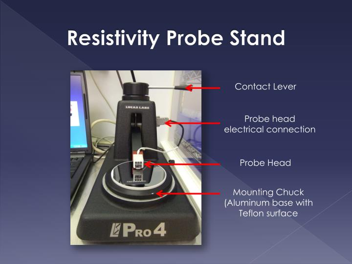Resistivity Probe Stand