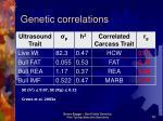 genetic correlations10