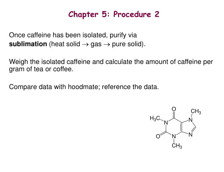 Chapter 5: Procedure 2