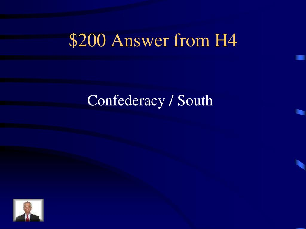 $200 Answer from H4