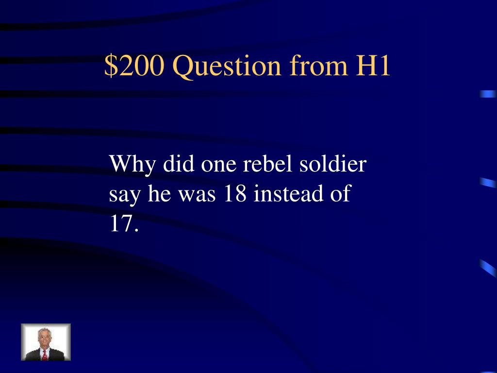 $200 Question from H1