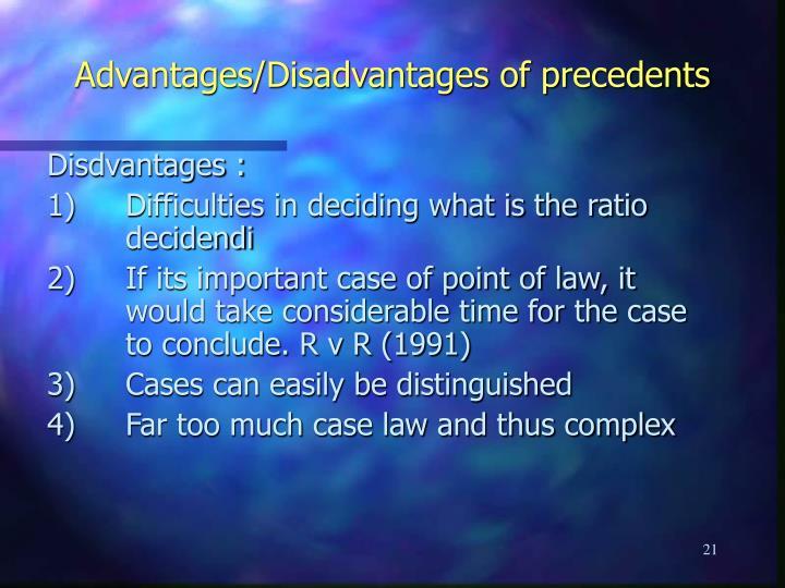 judicial precedent conclusion