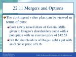 22 11 mergers and options2