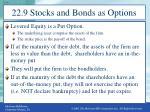 22 9 stocks and bonds as options1