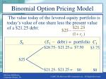 binomial option pricing model3
