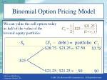 binomial option pricing model4