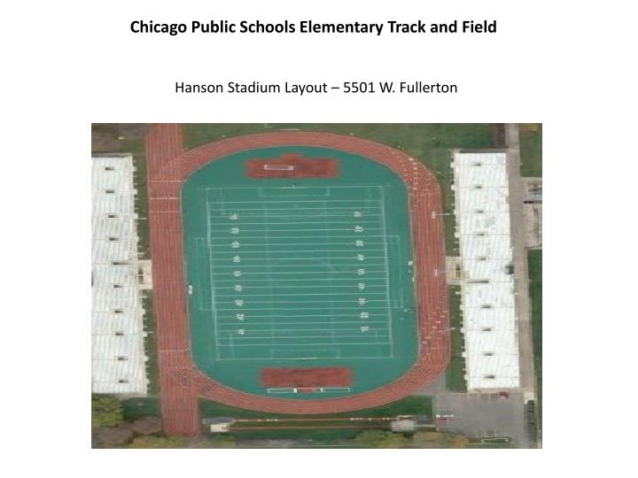 chicago public schools elementary track and field n.