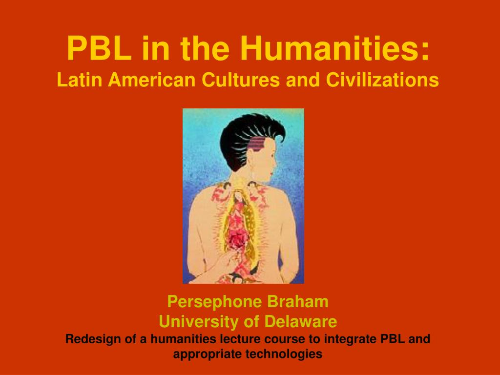 PBL in the Humanities:
