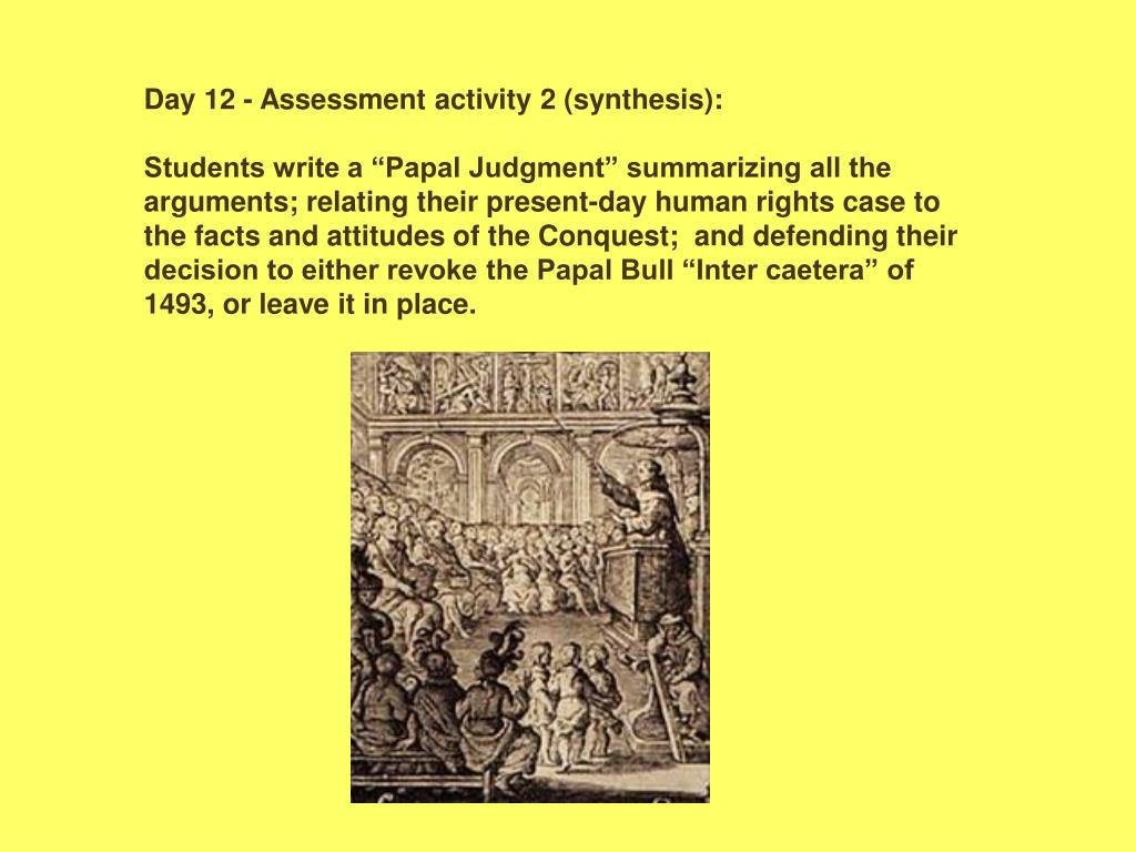 Day 12 - Assessment activity 2 (synthesis):