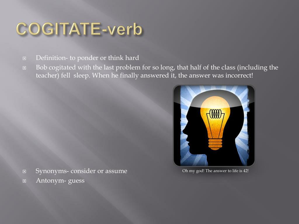 PPT - THE vocabulary PowerPoint PowerPoint Presentation - ID:1095227