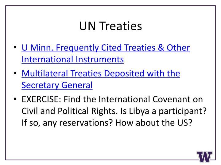 UN Treaties