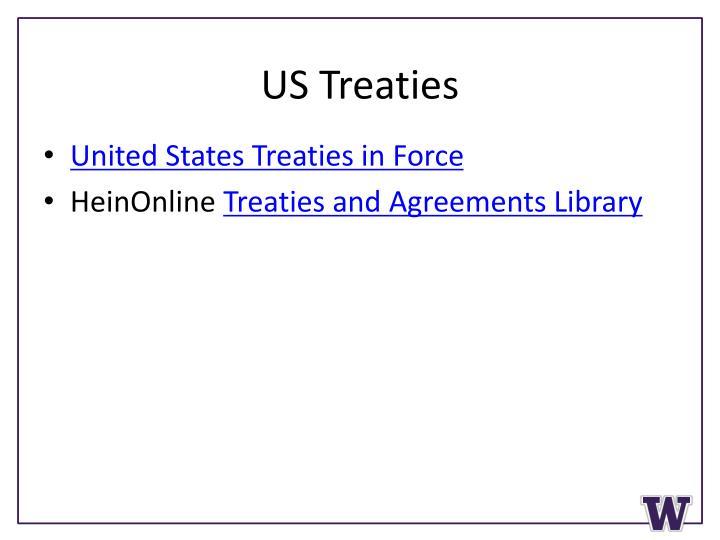 US Treaties