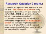 research question 3 cont29