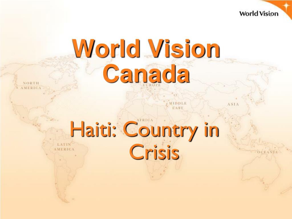 world vision canada l.