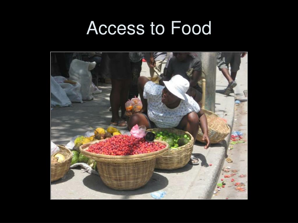 Access to Food