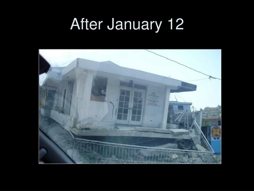 After January 12