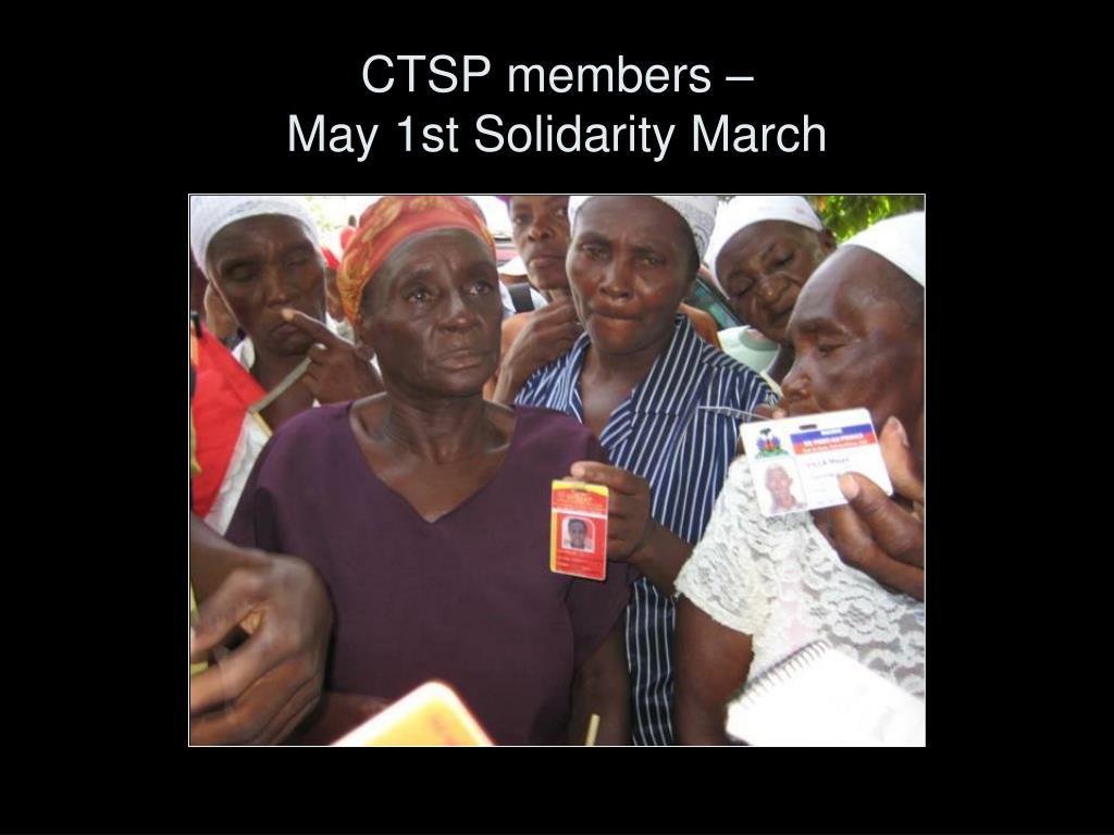 CTSP members –