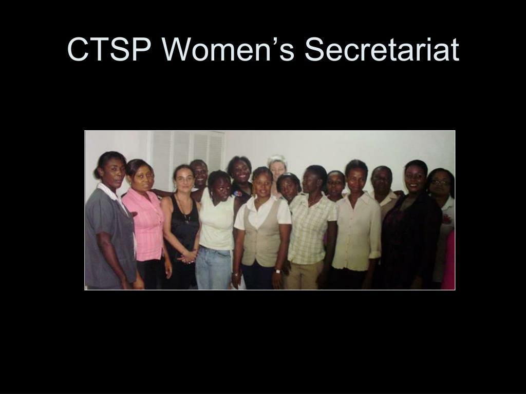 CTSP Women's Secretariat