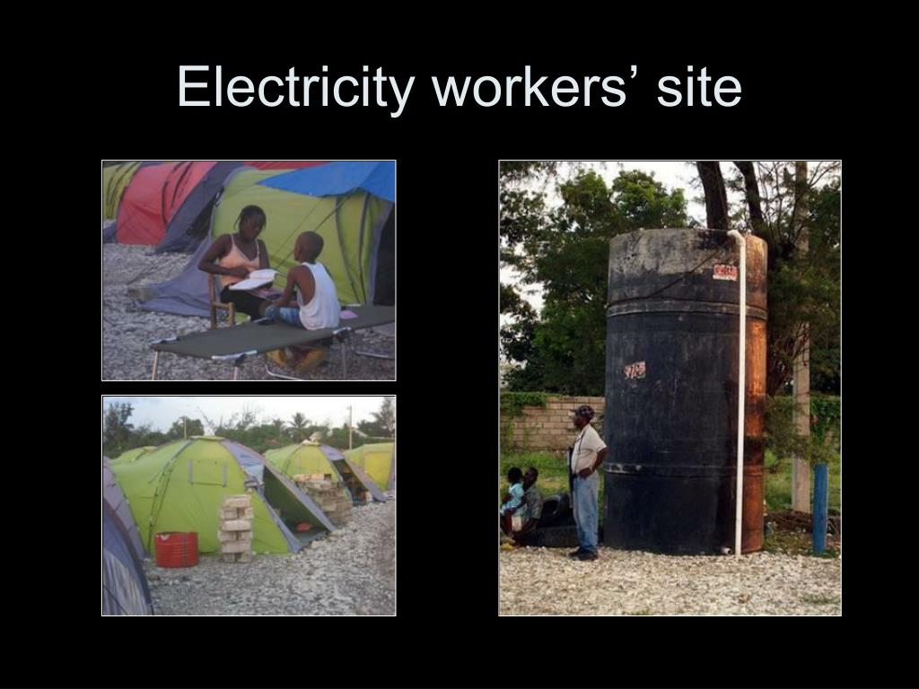 Electricity workers' site