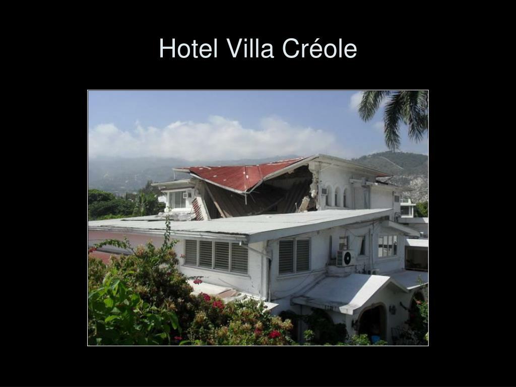 Hotel Villa Créole