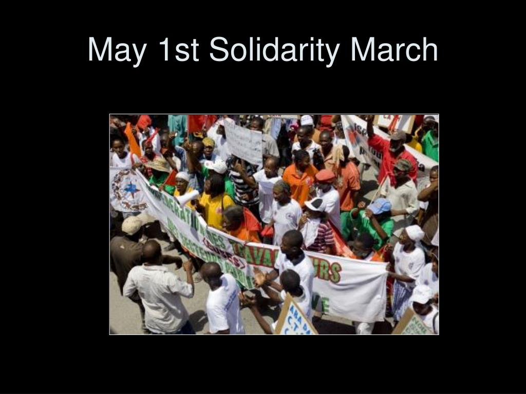 May 1st Solidarity March