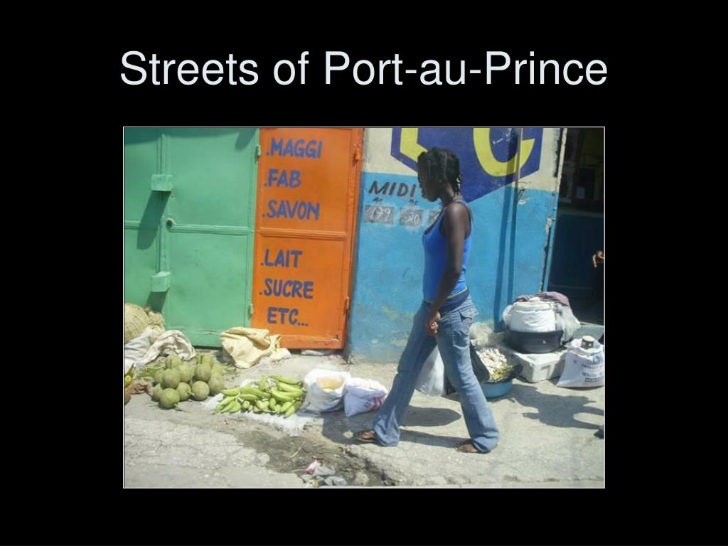 Streets of Port-au-Prince