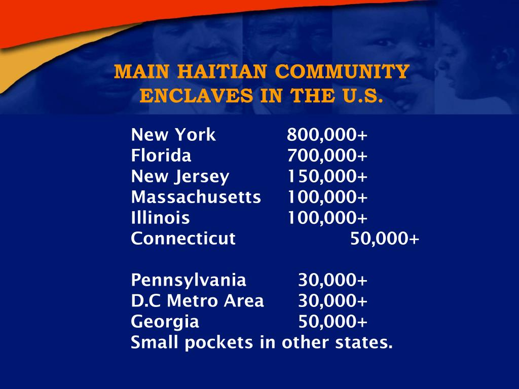 MAIN HAITIAN COMMUNITY