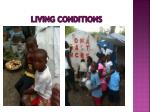 living conditions