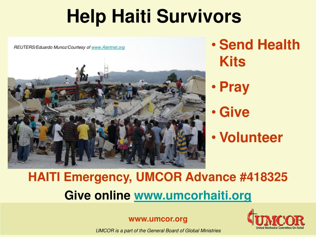 help haiti survivors l.